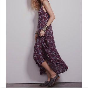 Free People Secret Garden Maxi Slip Dress